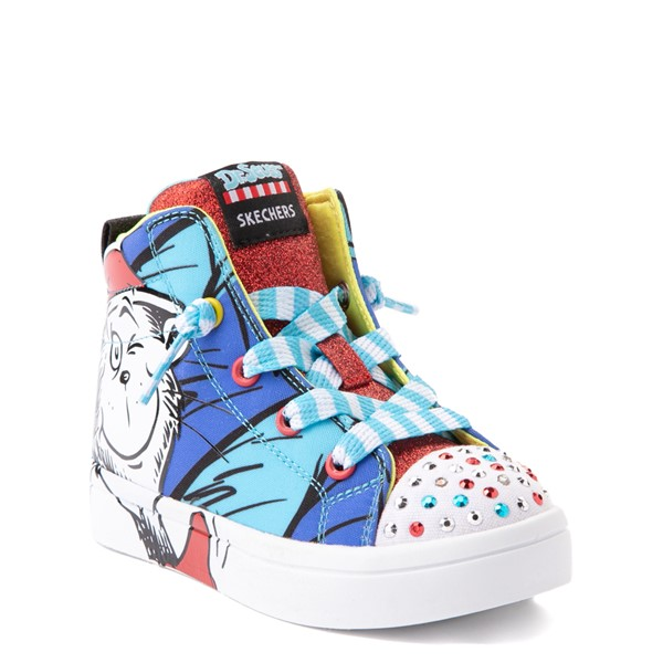 alternate view Skechers x Dr. Seuss Twi-Lites Having Fun Sneaker - Toddler - BlueALT5
