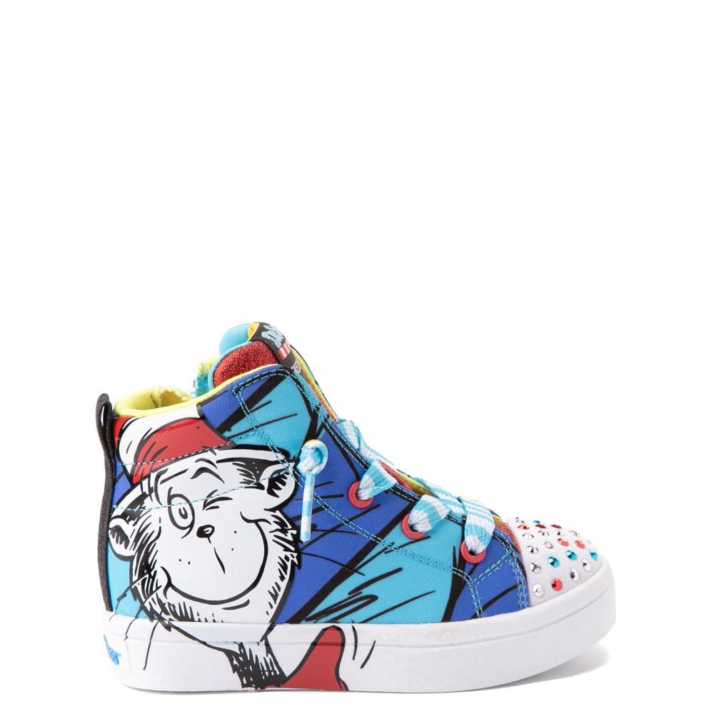 Skechers x Dr. Seuss Twi-Lites Having Fun Sneaker - Toddler - Blue