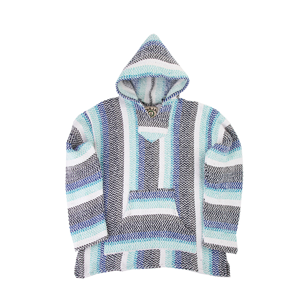 alternate view Mens Baja Poncho - PistachioALT2
