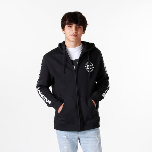 Main view of Mens DC Star Pilot Hoodie - Black