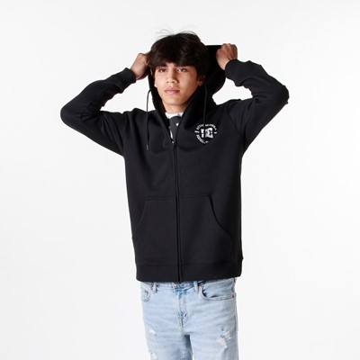 Alternate view of Mens DC Star Pilot Hoodie - Black