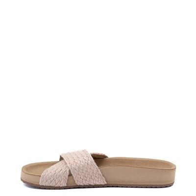 Alternate view of Womens Sanuk She Cruzy Jute Slide Sandal - Natural