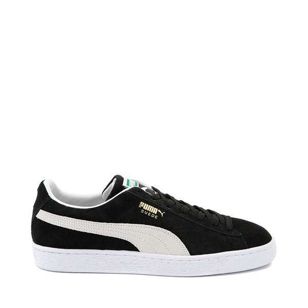 Mens Puma Suede Athletic Shoe - Black
