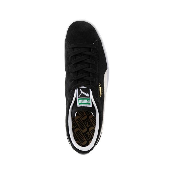 alternate view Mens Puma Suede Athletic Shoe - BlackALT2