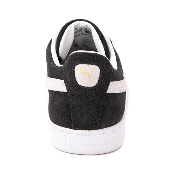 alternate view Mens Puma Suede Athletic Shoe - BlackALT4