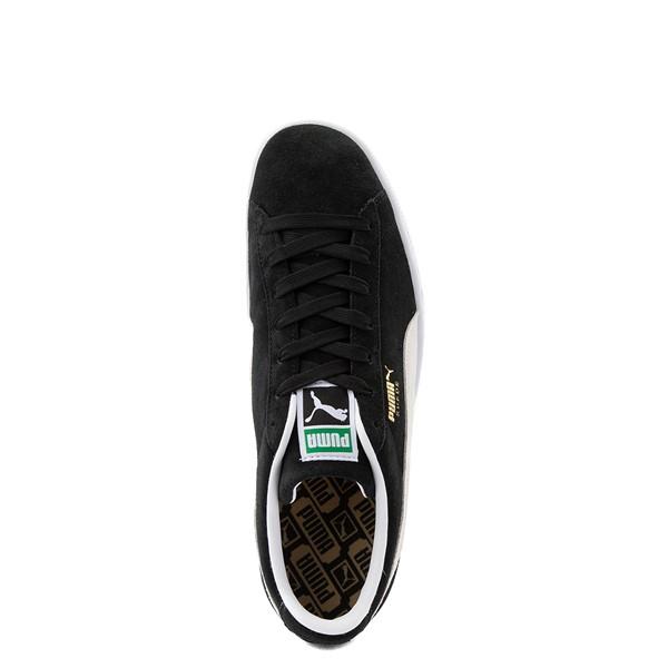 alternate view Mens Puma Suede Athletic Shoe - BlackALT4B
