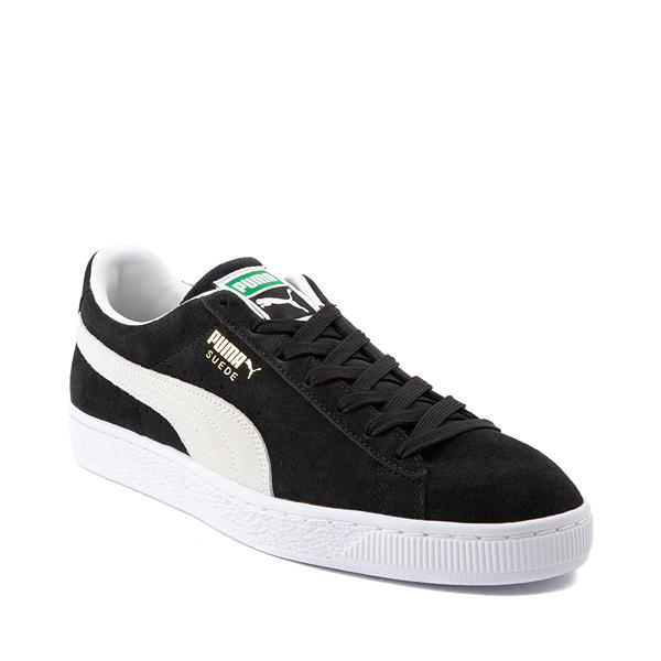 alternate view Mens Puma Suede Athletic Shoe - BlackALT5