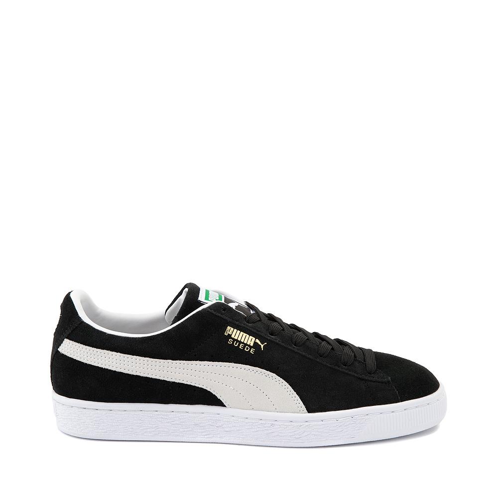 Mens Puma Suede Athletic Shoe - Black