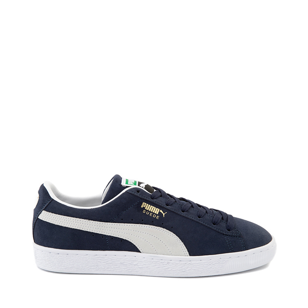 Mens Puma Suede Athletic Shoe - Navy