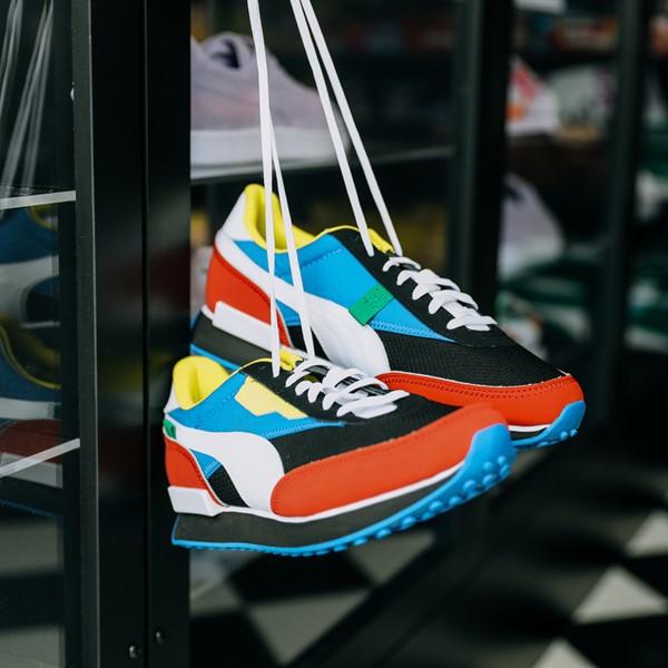 alternate view Mens Puma Future Rider Athletic Shoe - Colorize MulticolorALT1B