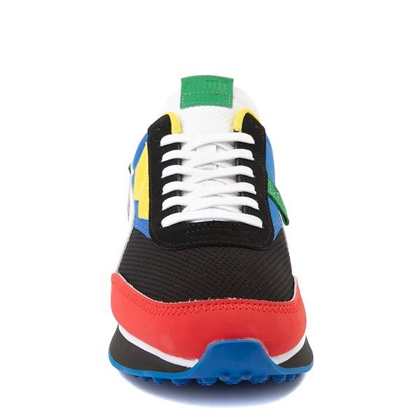 alternate view Mens Puma Future Rider Athletic Shoe - Colorize MulticolorALT4