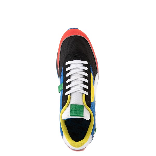 alternate view Mens Puma Future Rider Athletic Shoe - Colorize MulticolorALT4B