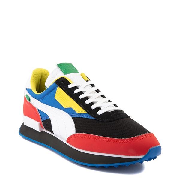 alternate view Mens Puma Future Rider Athletic Shoe - Colorize MulticolorALT5
