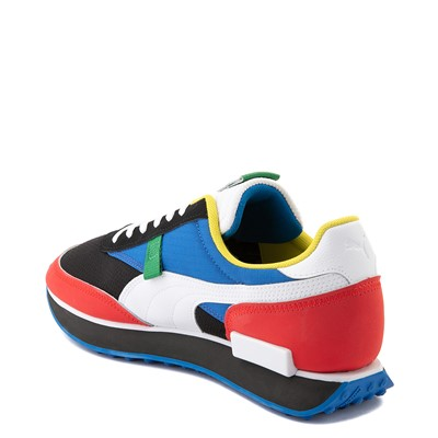 Alternate view of Mens Puma Future Rider Athletic Shoe - Colorize Multicolor