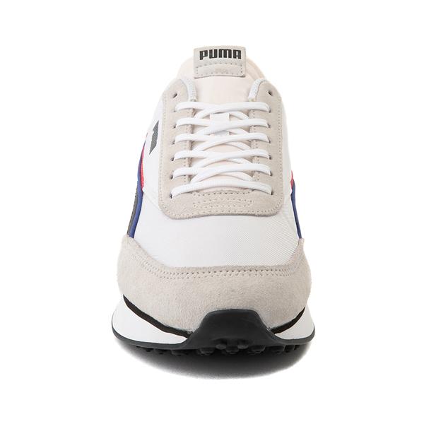alternate view Mens Puma Future Rider Double Athletic Shoe - Gray / MulticolorALT4