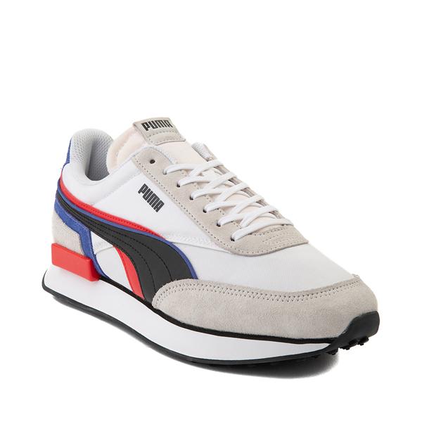 alternate view Mens Puma Future Rider Double Athletic Shoe - Gray / MulticolorALT5