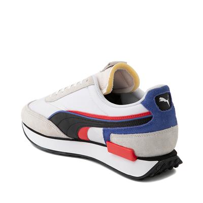 Alternate view of Mens Puma Future Rider Double Athletic Shoe - Gray / Multicolor