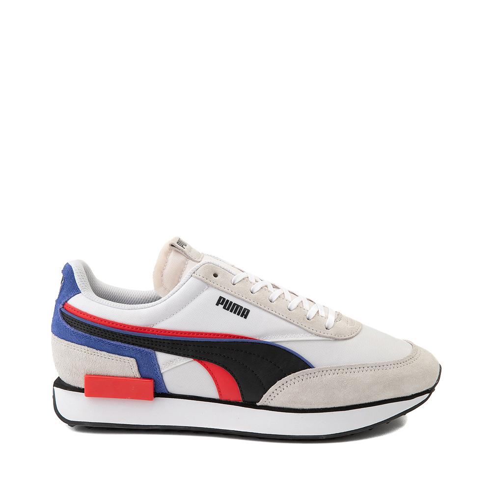 Mens Puma Future Rider Double Athletic Shoe - Gray / Multicolor