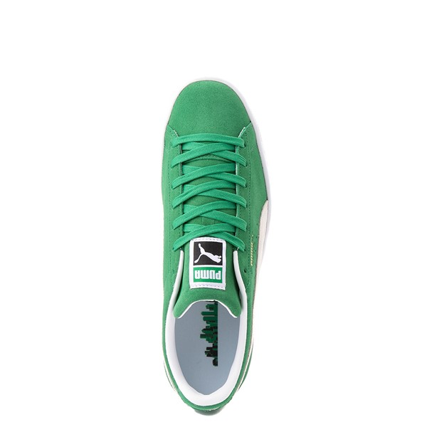 Main view of Mens Puma Suede Athletic Shoe - Green
