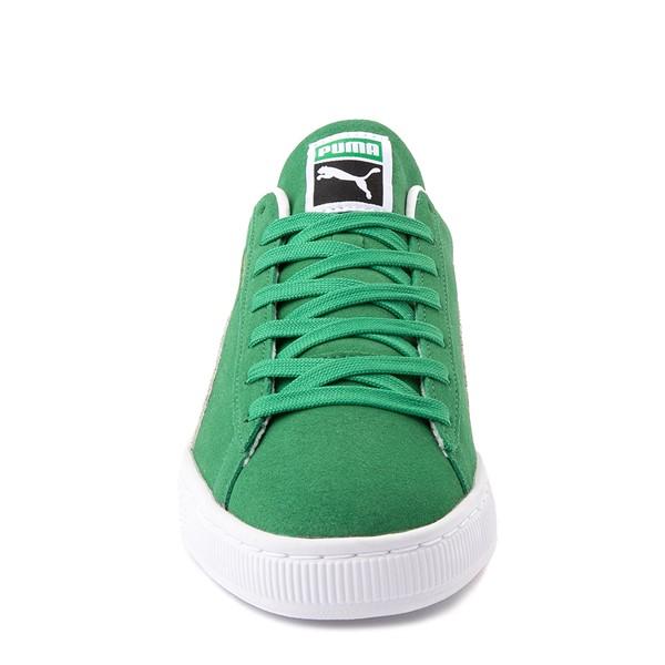 alternate view Mens Puma Suede Athletic Shoe - GreenALT4