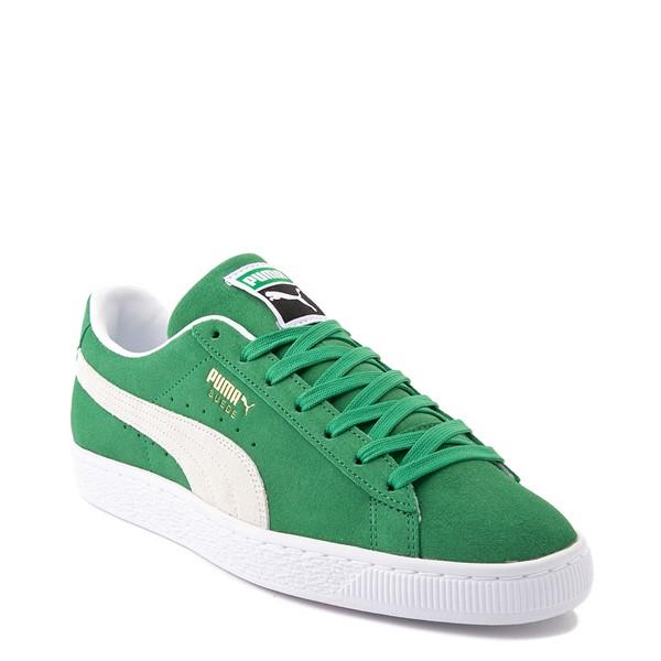 alternate view Mens Puma Suede Athletic Shoe - GreenALT5