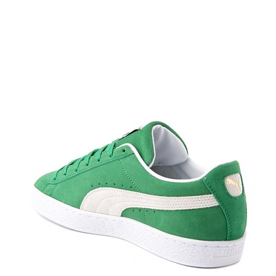 Alternate view of Mens Puma Suede Athletic Shoe - Green
