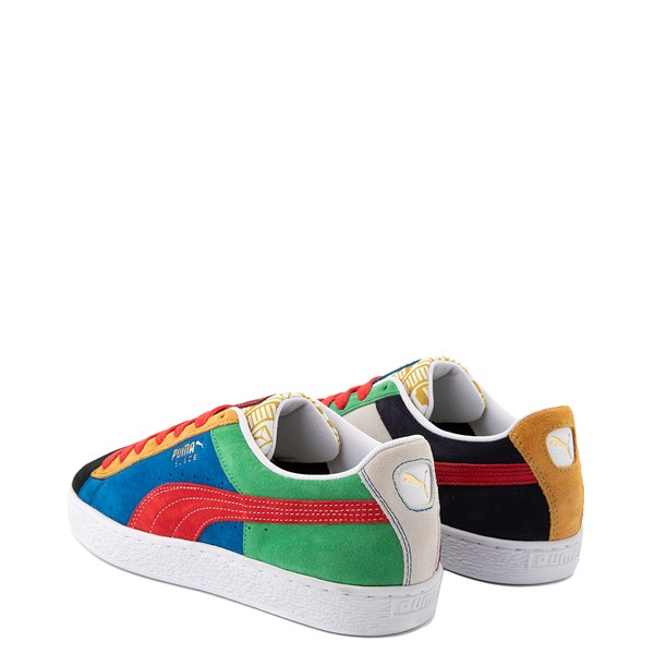 alternate view Mens Puma Suede Iconix Athletic Shoe - MulticolorALT1B
