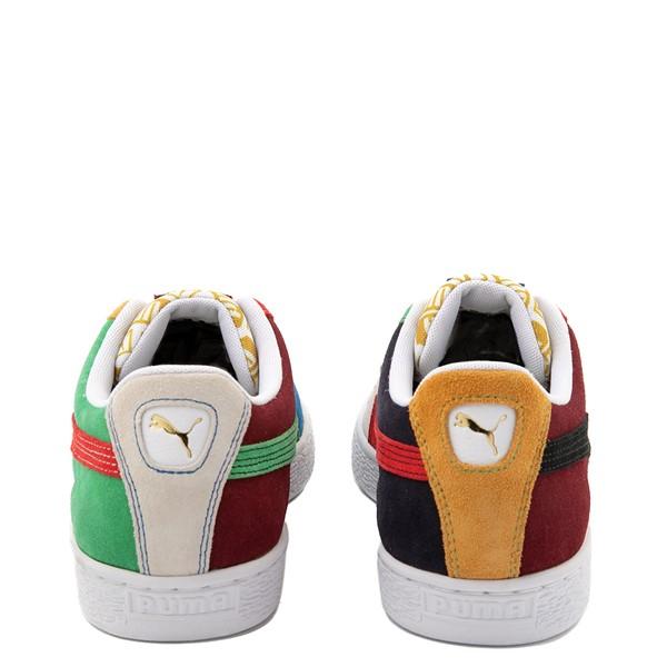 alternate view Mens Puma Suede Iconix Athletic Shoe - MulticolorALT4