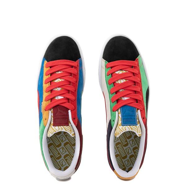 alternate view Mens Puma Suede Iconix Athletic Shoe - MulticolorALT4B