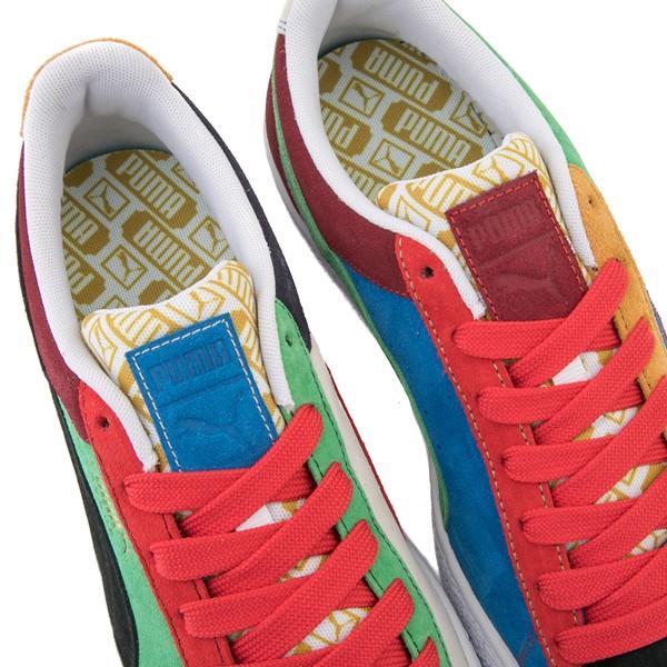 alternate view Mens Puma Suede Iconix Athletic Shoe - MulticolorALT6