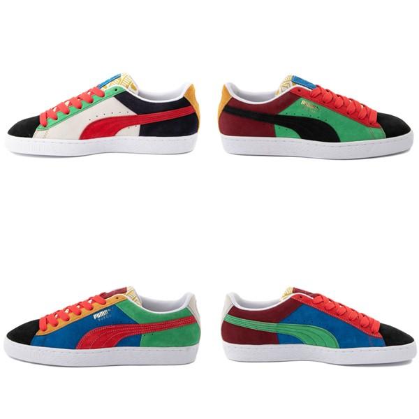 alternate view Mens Puma Suede Iconix Athletic Shoe - MulticolorALT7