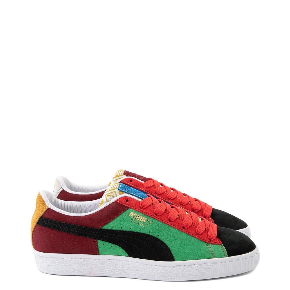 Mens Puma Suede Iconix Athletic Shoe - Multicolor