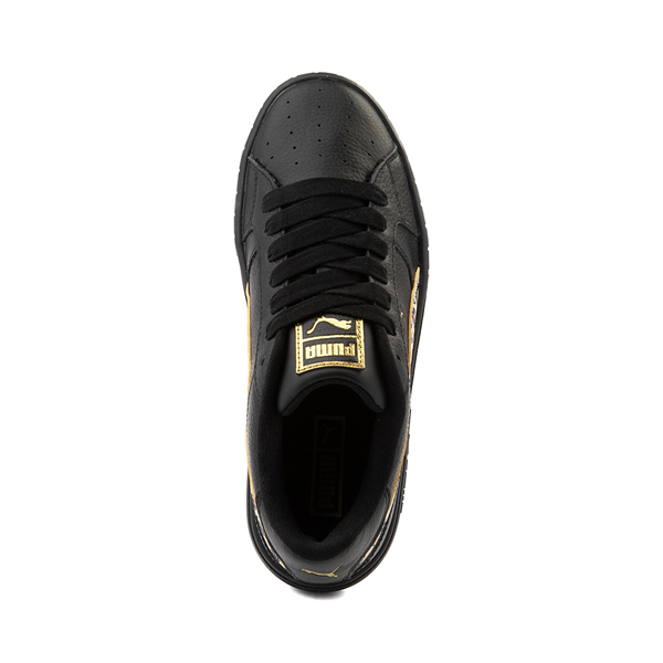 alternate view Womens Puma Cali Star Athletic Shoe - Black / LeopardALT2