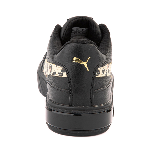 alternate view Womens Puma Cali Star Athletic Shoe - Black / LeopardALT4