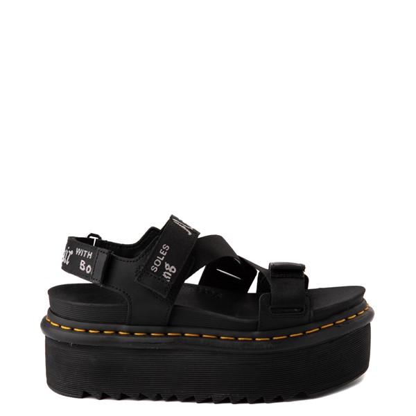 Womens Dr. Martens Kimber Platform Sandal - Black