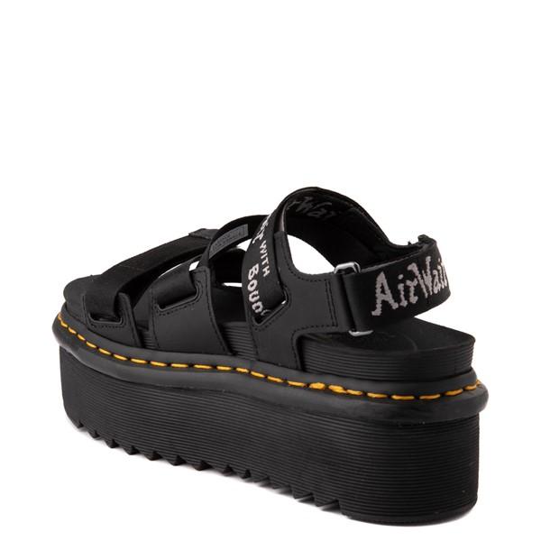 alternate view Womens Dr. Martens Kimber Platform Sandal - BlackALT1