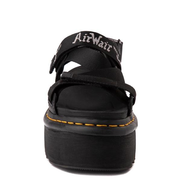 alternate view Womens Dr. Martens Kimber Platform Sandal - BlackALT4