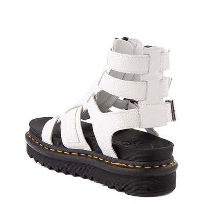 Alternate view of Womens Dr. Martens Olson Gladiator Sandal - White
