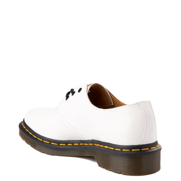 alternate view Womens Dr. Martens 1461 Casual Shoe - WhiteALT1
