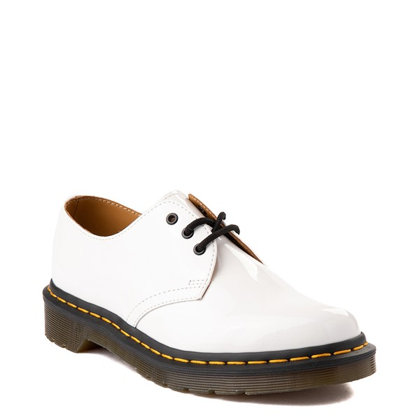 alternate view Womens Dr. Martens 1461 Casual Shoe - WhiteALT5
