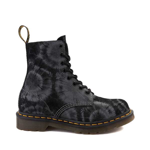 Womens Dr. Martens 1460 Pascal 8-Eye Boot - Black Tie Dye
