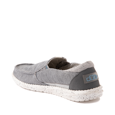 Alternate view of Mens Hey Dude Thad Slip On Casual Shoe - Sharkskin