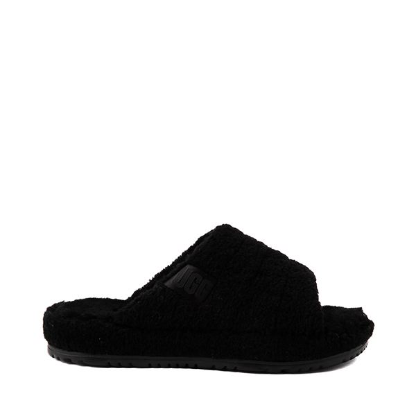 Main view of UGG® Fluff You Slide Sandal - Black