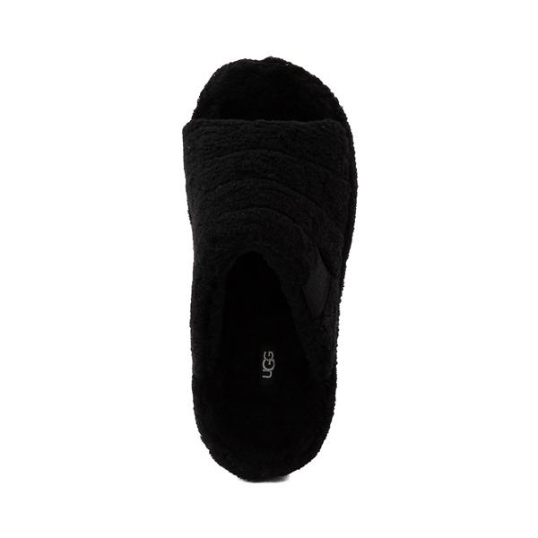 alternate view UGG® Fluff You Slide Sandal - BlackALT2