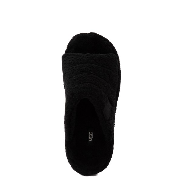 alternate view UGG® Fluff You Slide Sandal - BlackALT4B