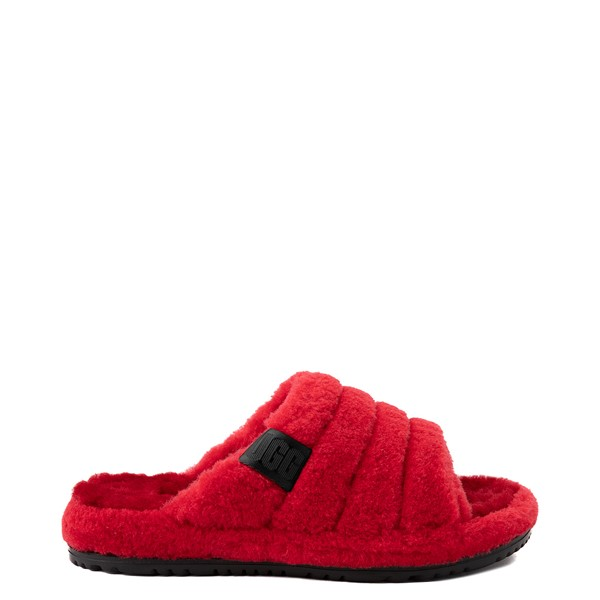 Main view of UGG® Fluff You Slide Sandal - Samba Red