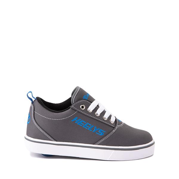 Heelys Pro 20 Skate Shoe - Little Kid / Big Kid - Gray / Royal Blue