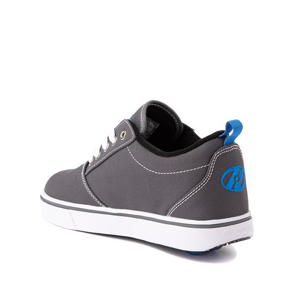 alternate view Heelys Pro 20 Skate Shoe - Little Kid / Big Kid - Gray / Royal BlueALT1