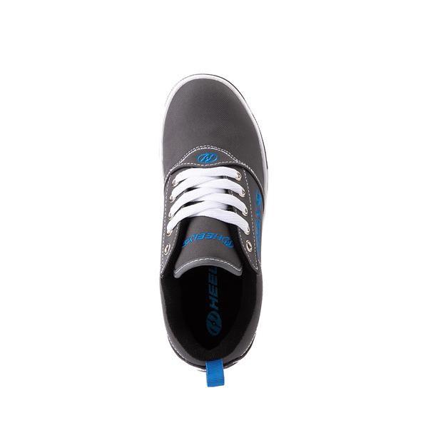 alternate view Heelys Pro 20 Skate Shoe - Little Kid / Big Kid - Gray / Royal BlueALT2
