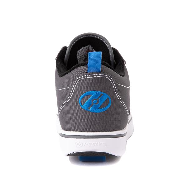 alternate view Heelys Pro 20 Skate Shoe - Little Kid / Big Kid - Gray / Royal BlueALT4